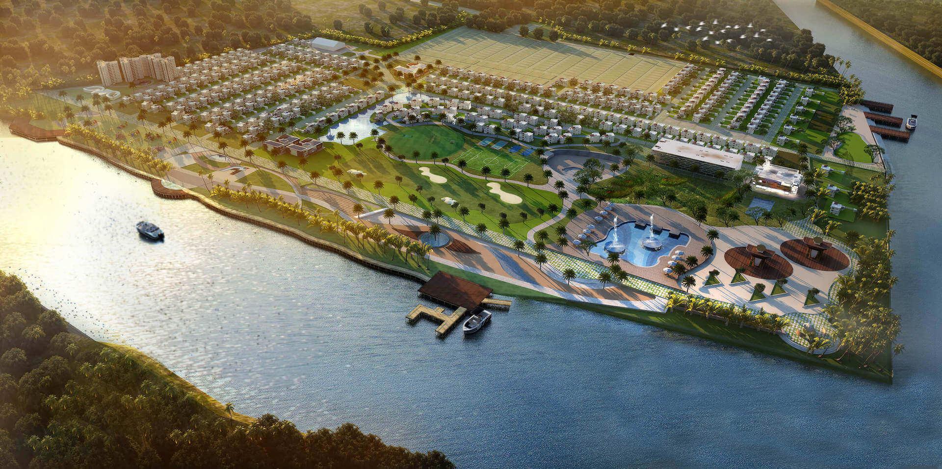 Alakananda RiverFront - Masterplan - Reduced for Website