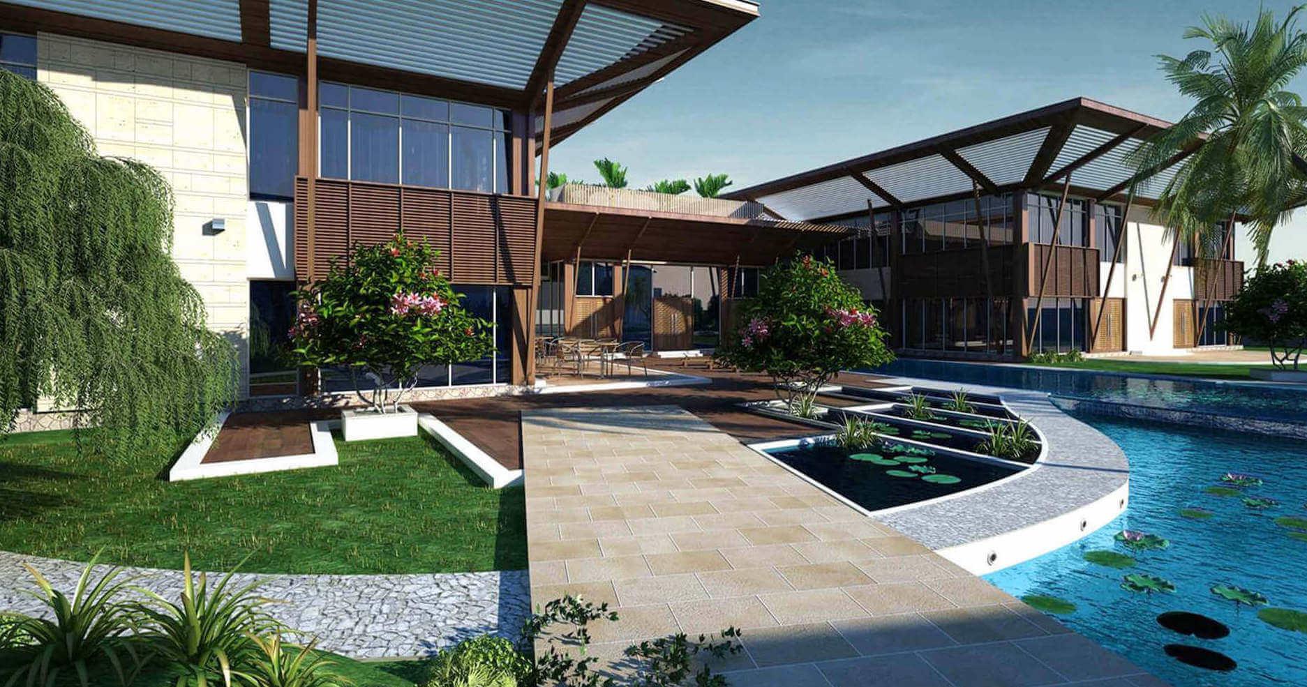 Alakananda RiverFront - Clubhouse