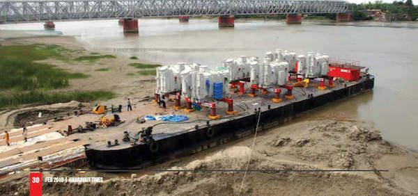 Alakananda RiverFront - Dredging of Krishna River, Muktyala to Amaravati National Waterways, Amaravati & Vijayawada