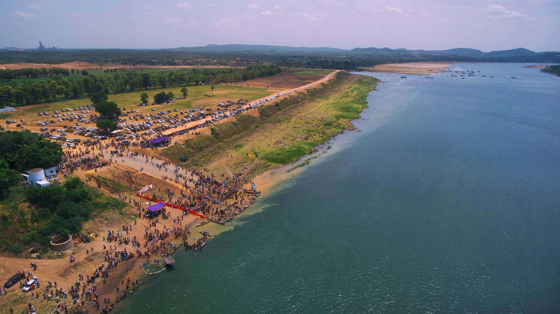 Alakananda RiverFront - Krishna Pushkaralu 1