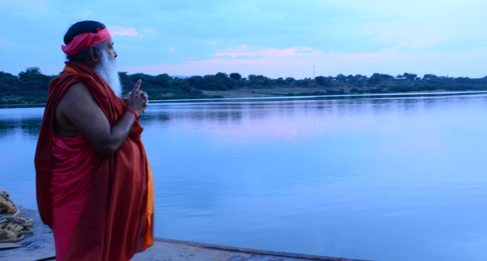 Alakananda RiverFront - Swamiji at Alakananda - Photo 1